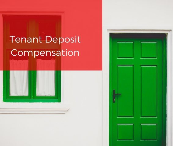 Tenant Deposit protection