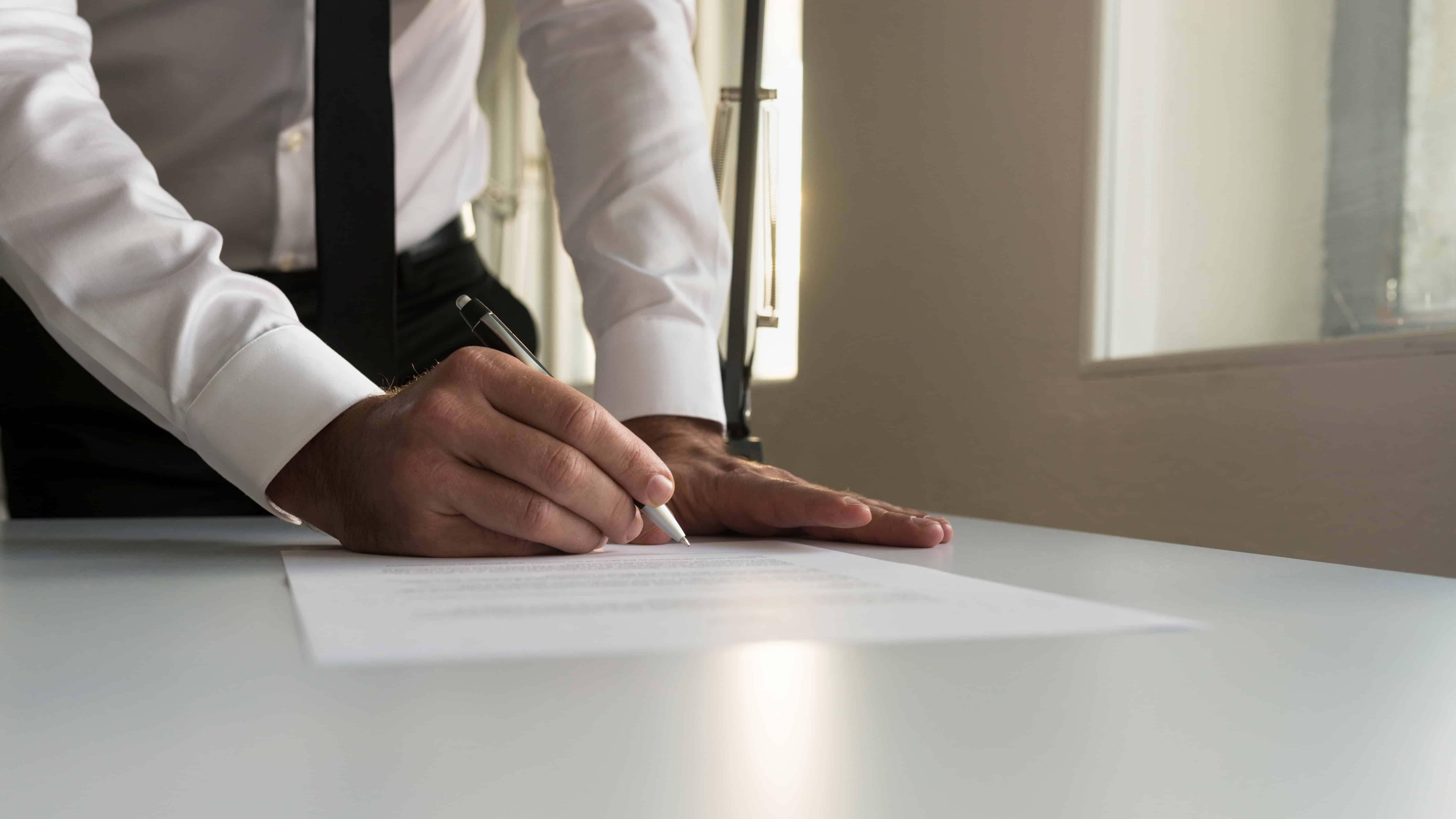 Accepting a Setttlement Agreement