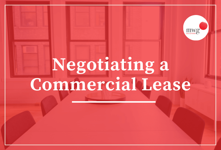 Commercial Lease Negotiations MWG